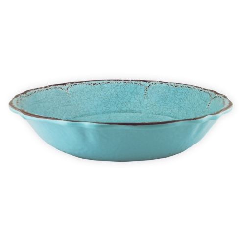 Antiqua Tourquoise Salad Serving Bowl collection with 1 products
